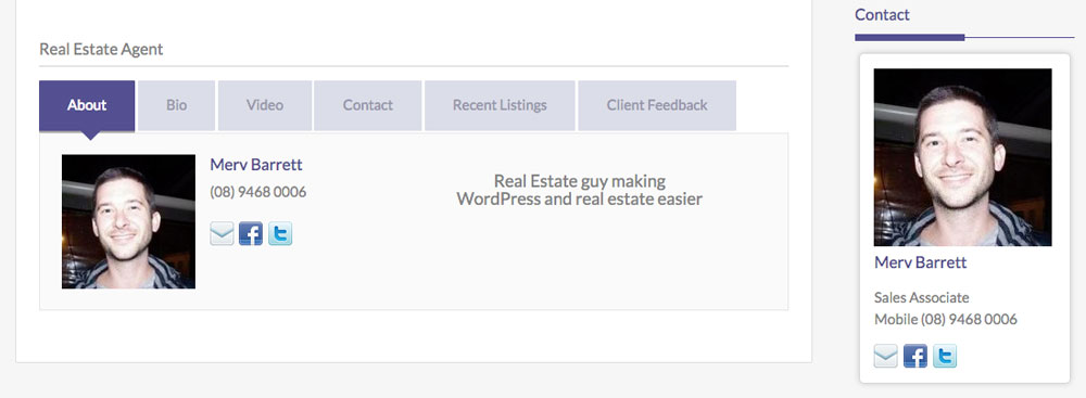 How to edit your author box profile in Easy Property Listings