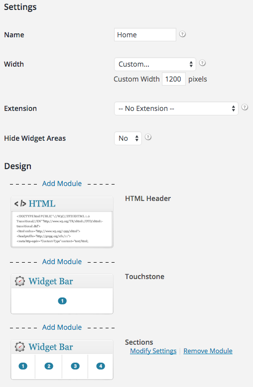 HTML Header module for iThemes Builder