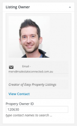 Listing Owner - Easy Property Listings