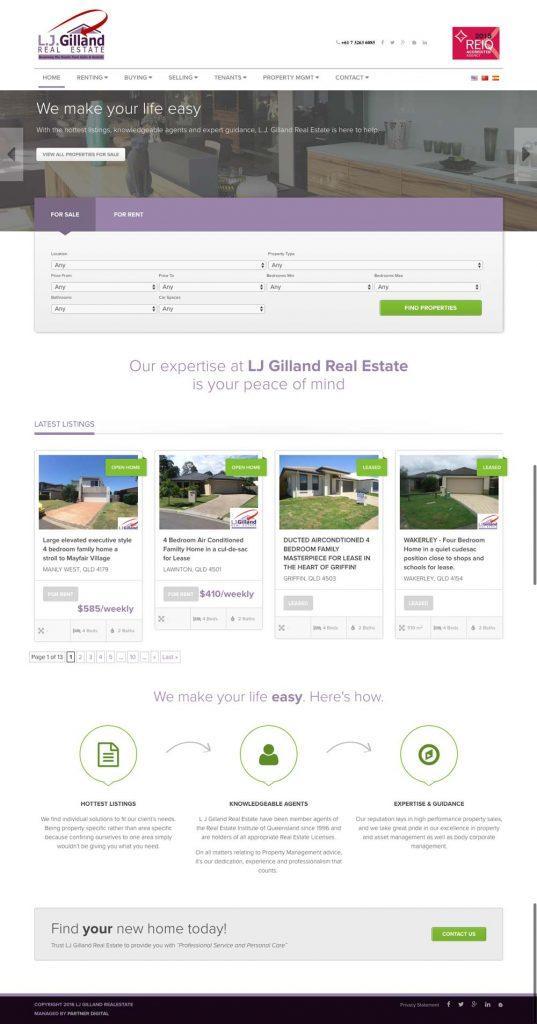 LJ Gilland Real Estate - Brisbane