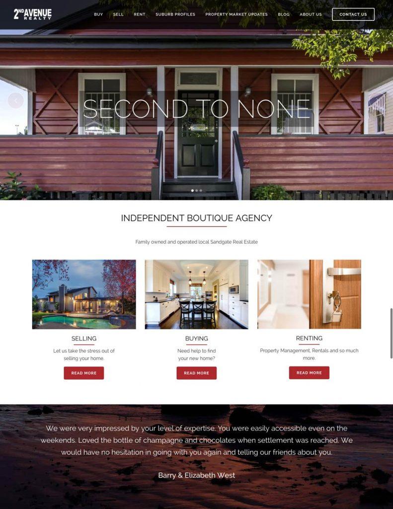 2nd Avenue Realty   Award Winning Sandgate Real Estate Agents