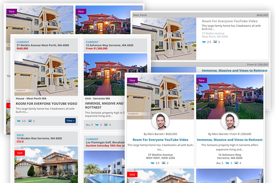 Listing Templates Updated To Easy Property Listings WordPress - Real estate ad templates