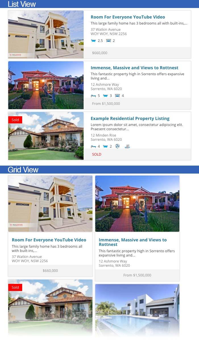 Listing Templates - Easy Property Listings WordPress Plugin