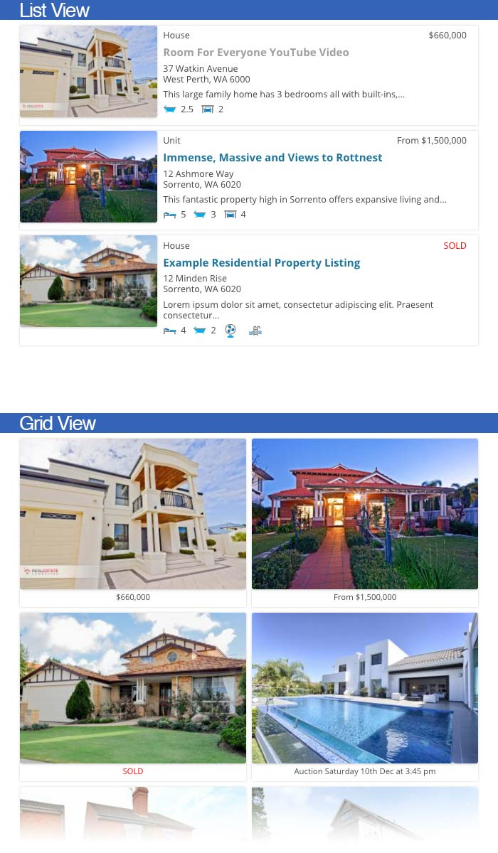 Listing Templates Easy Property Listings WordPress Plugin - House listing template