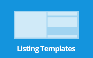 Listing Templates