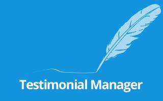 Testimonial-Manager