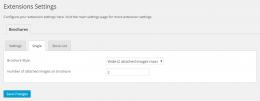 Brochures settings Single - WordPress plugin - Easy Property Listings